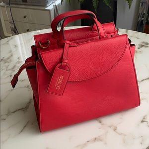 KATE SPADE Saturday red micro handbag